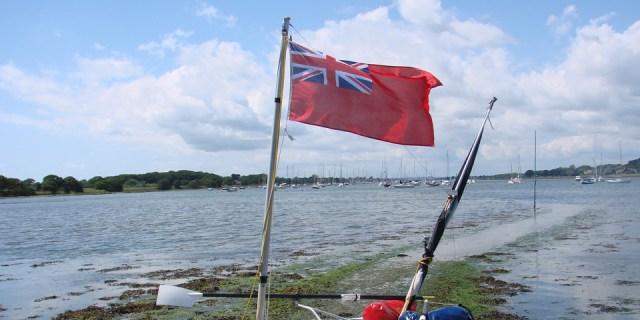 Skipper in inglese a vela