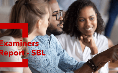 Uncovering Examiners report – SBLSunday 19th July 2020