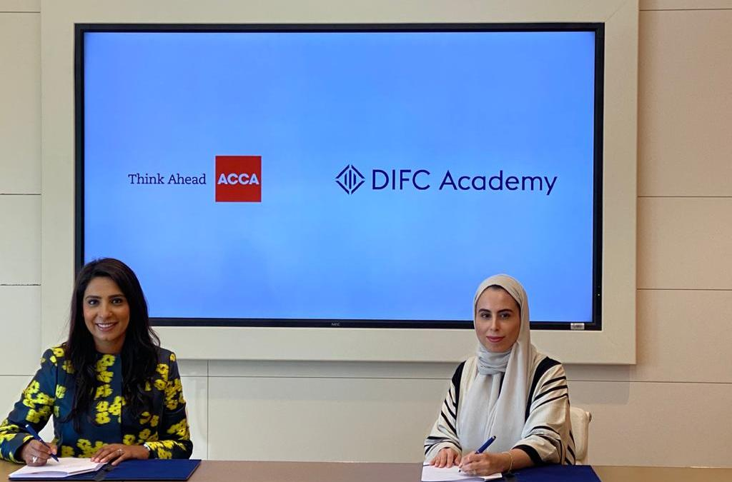 ACCA partners with the DIFC Academy to further advance the Accountancy and Tax profession