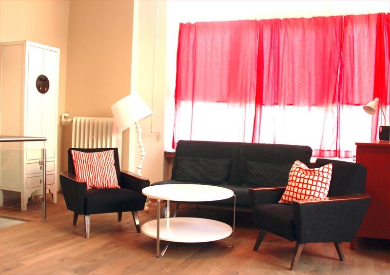 Barrierefreies Trendy City Appartement Berlin Schneberg  Accamino Reisen  barrierefreie