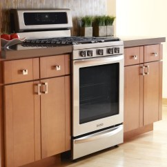 Kitchen Aid Stove Green Mat The Difference Between Kitchenaid Slide In And Freestanding Ranges