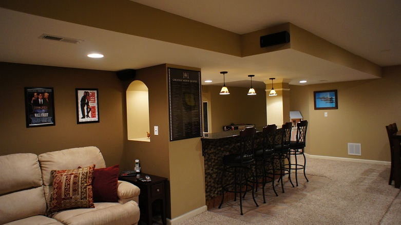 2013 Projects  ACC Finished Basement  Remodeling