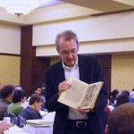 Edward Tufte has suggestions on how to give good technical presentations