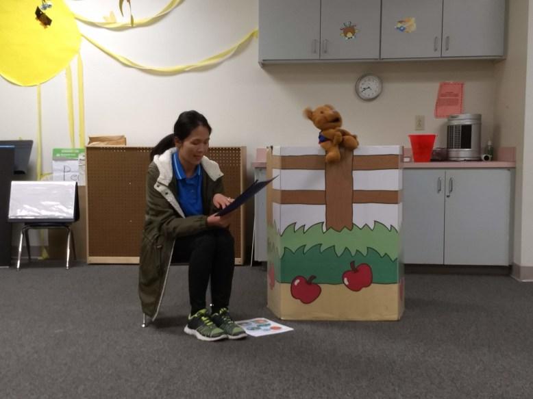 Awana Cubbies puppet show