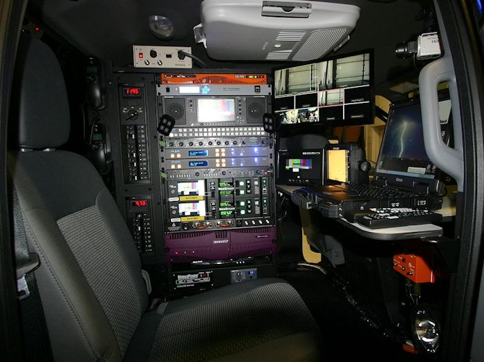 Pickup Truck Based Storm Chaser  Accelerated Media Technologies