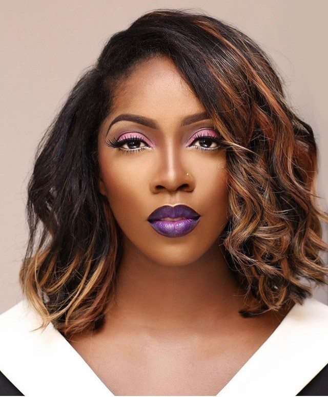 tiwa savage bold make-up inspo