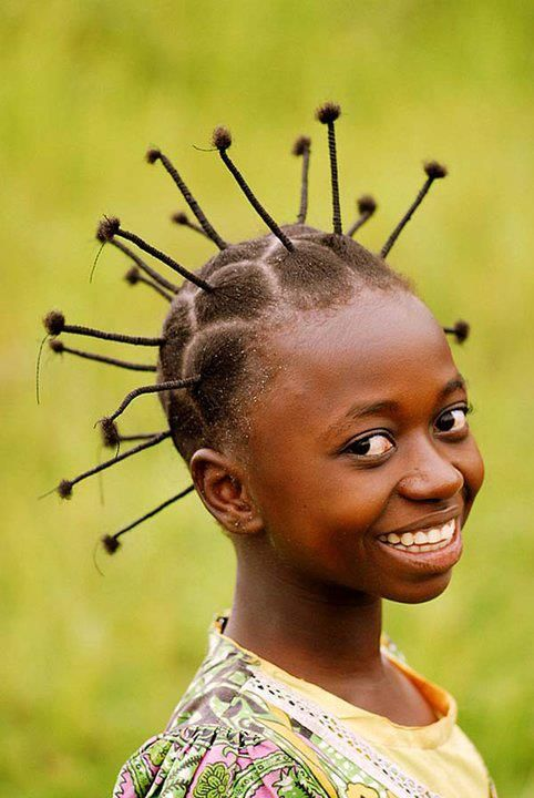 Thread hairstyle