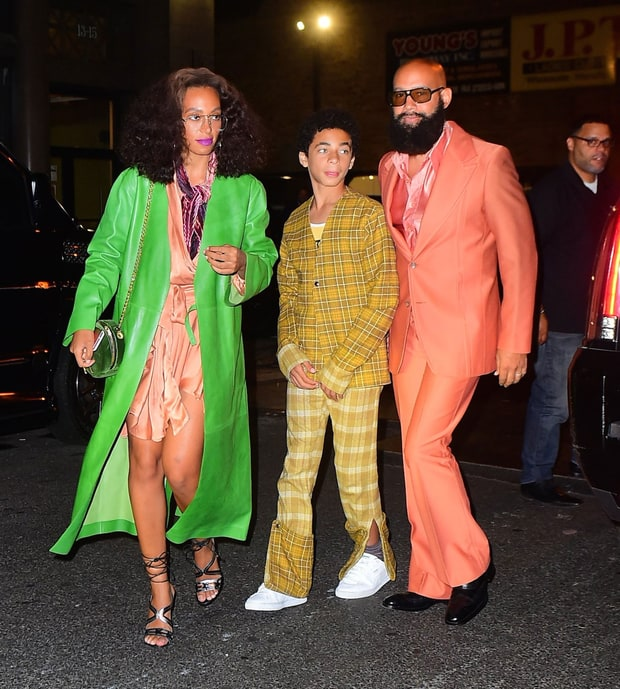 bey party solange family