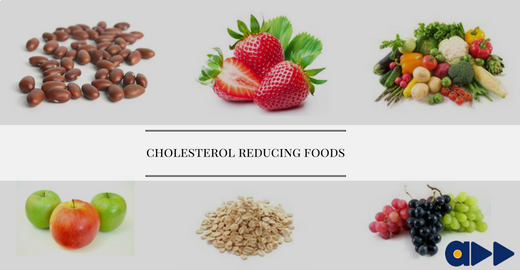 cholesterol reducing food