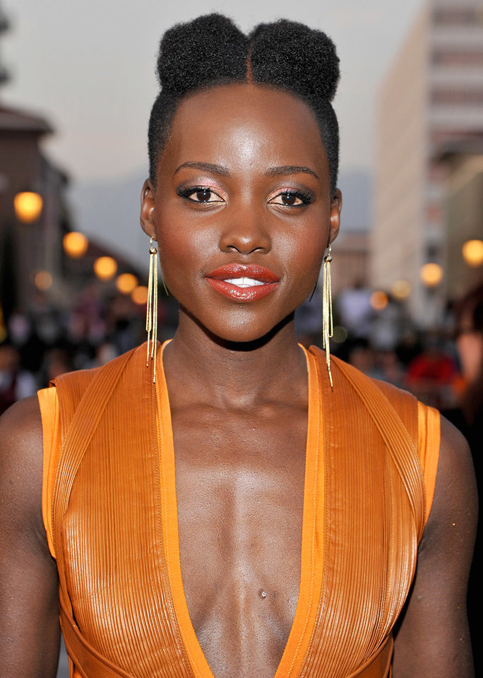 PASADENA, CA - FEBRUARY 22: Actress Lupita Nyong'o attends the 45th NAACP Image Awards presented by TV One at Pasadena Civic Auditorium on February 22, 2014 in Pasadena, California. (Photo by John Sciulli/Getty Images for NAACP Image Awards)