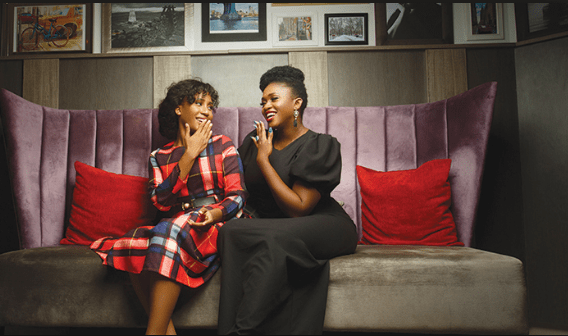 waje and daughter