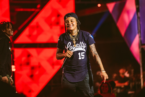AUSTIN, TX - MARCH 16:  Young MA perfoming at the 2017 MTV Woddies during SXSW on March 16, 2017 in Austin, Texas.  (Photo by Merrick Ales/WireImage)