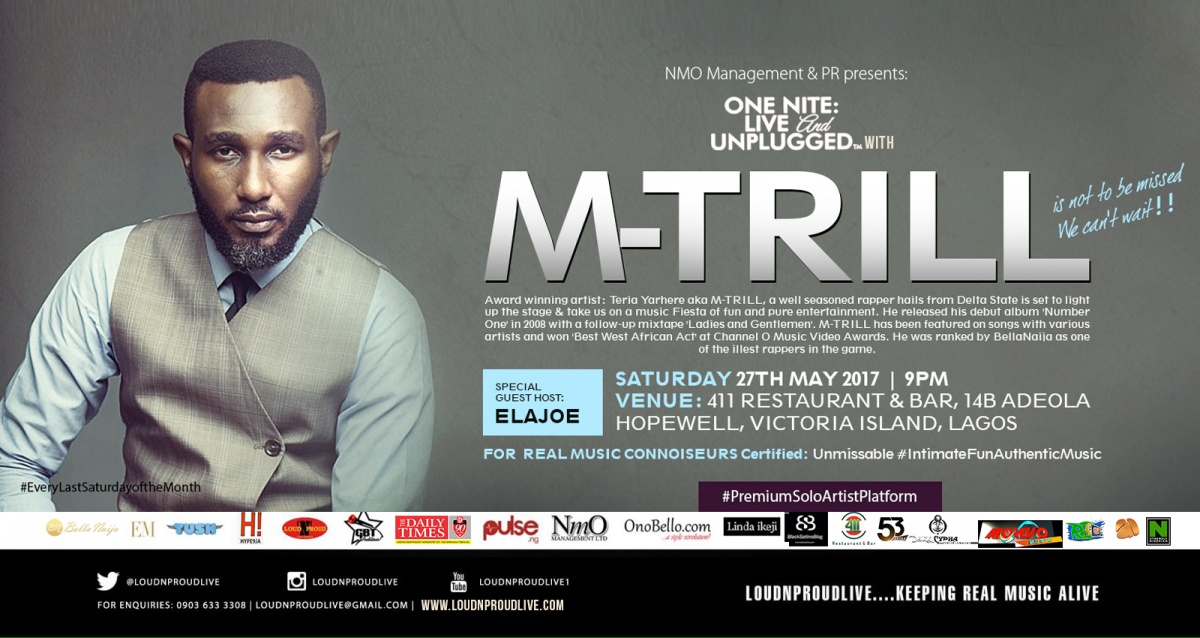 ONE NITE LIVE & UNPLUGGED with M-TRILL