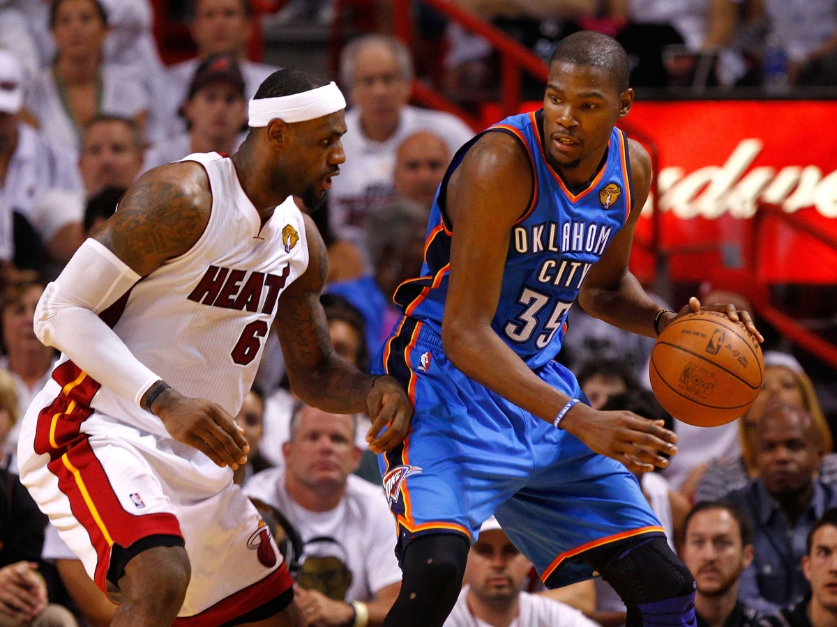 LeBron James and Kevin Durant 1