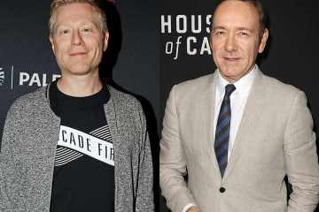 Anthony Rapp and Kevin Spacey