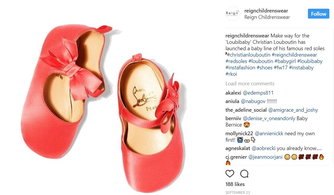 d3527e0e64f Christian Louboutin Set To Release Collection Of Red-Soled Baby ...