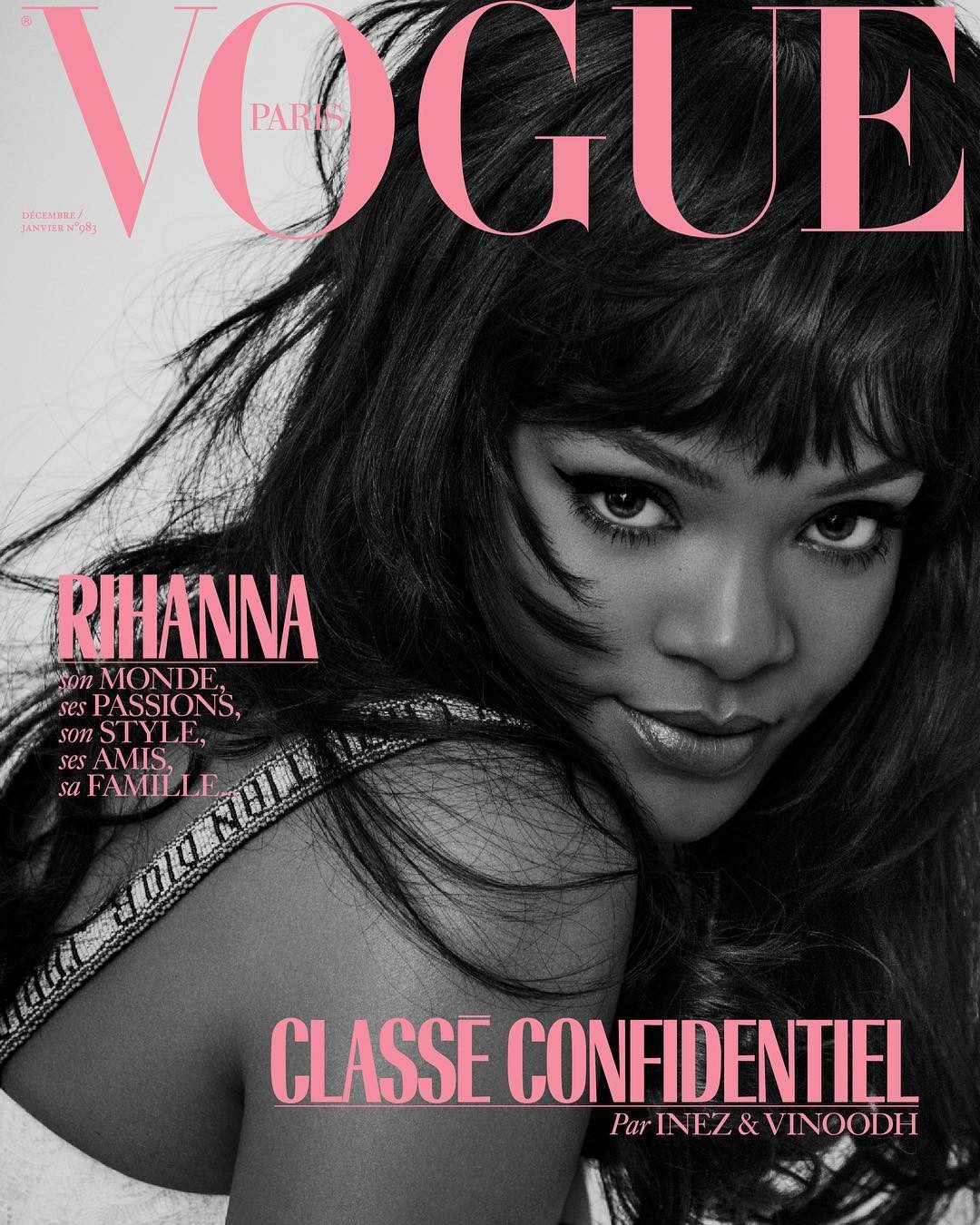Rihanna on Vogue Paris