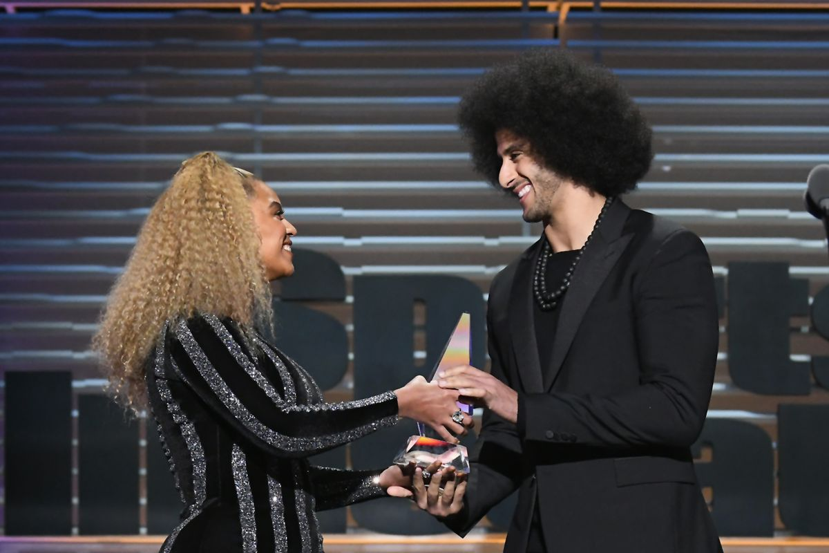beyonce and colin