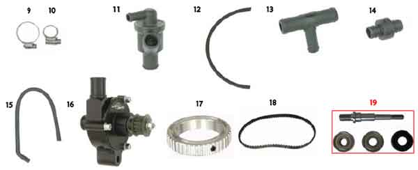 CRG Cooling Accessories