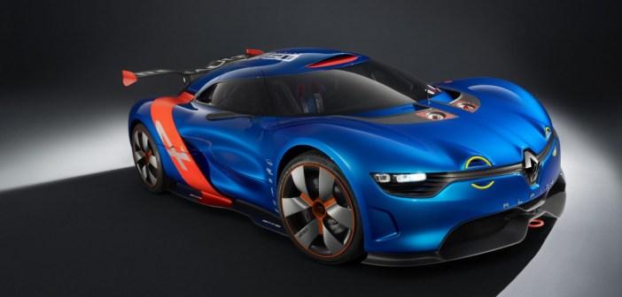 Renault Alpine front