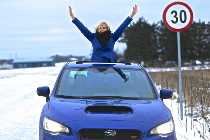 Subaru STI võidukas