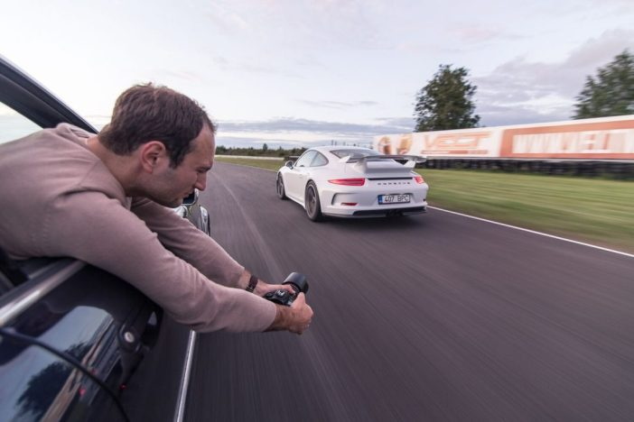 Sergei Zjuganov Porschega Audruringil