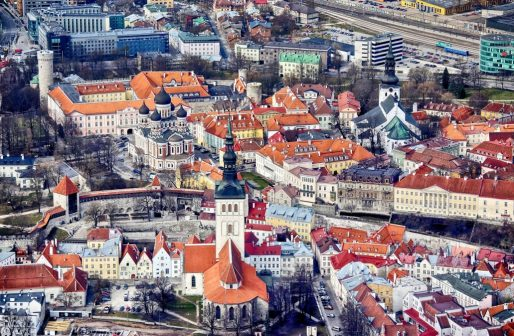 linnaõhu Tallinna vanalinn asutused 11. maist
