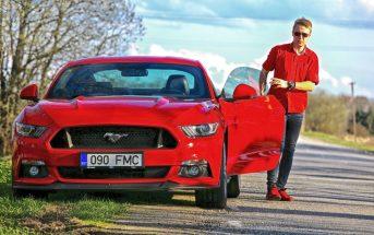 Veli, Mustang, Ford, punane