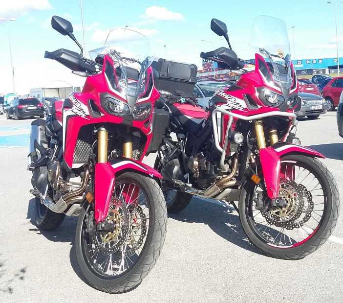 Africa Twin Honda