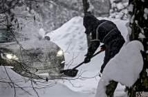 lumi talvel autos labidas lumehange