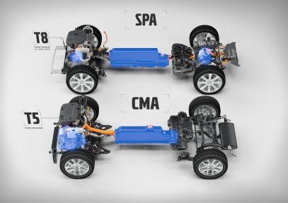 T8 Twin Engine AWD SPA platvormil