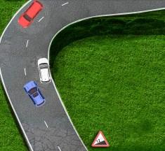 Segadusseajav liiklusülesanne nr.8: riukalik takistusest möödumine