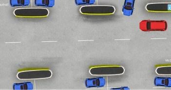 Parklas liigeldes ei ole eesõigus alati sellel, kes sõidab laiemal teel