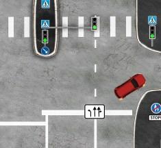 Segadusseajav liiklusülesanne nr.11: peatumine punase tulega ja tee andmise kohustus