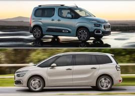 """Võrdluses Citroëni mahukad """"sidrunid"""" Grand C4 SpaceTourer ja Berlingo"""