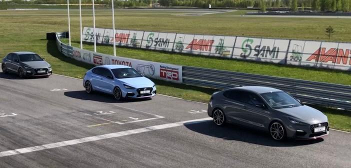 """Hyundai """"ennidega"""" ringrajal: i30 N ja Fastback N on üsna lollikindlad kähkusõitjad"""
