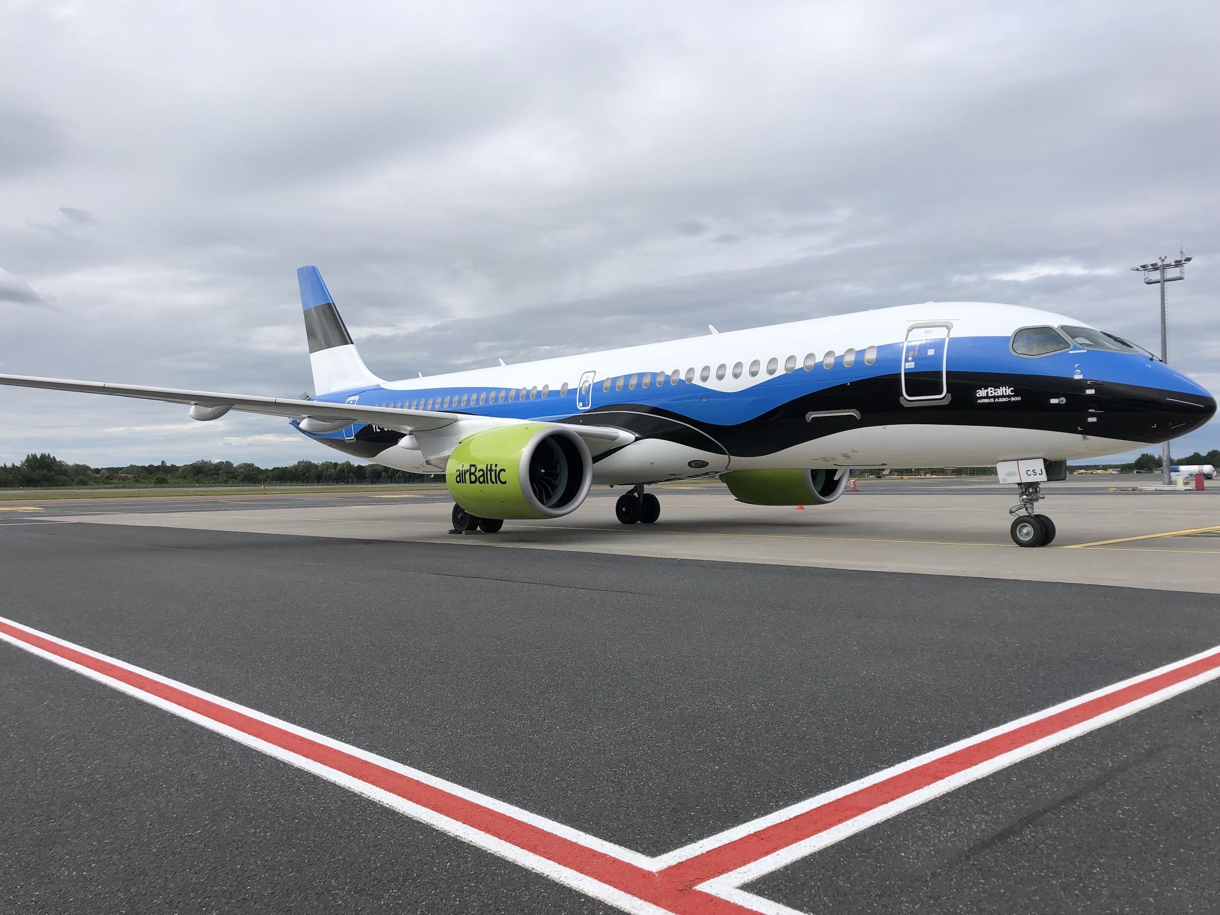 airBaltic vaikis sellest, et on kahe aasta jooksul 50 korral A220 mootorit vahetanud
