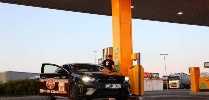 Miks pole tark mõte pidevalt põleva kütusetulega sõita?
