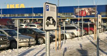 Eksperiment: Koerailmaga 40 kWh Nissan Leafiga Riia IKEAsse ja tagasi