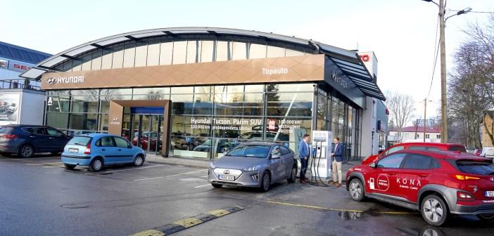 Tallinnas avati 15. novembril korraga kaks kahesüsteemset e-autode kiirlaadijat