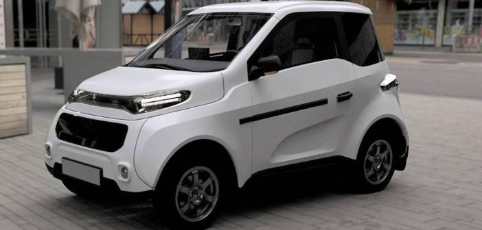 Venelaste vastus smart EQ fortwo'le: täiselektriline väikeauto Zetta