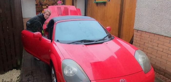 Subaruga Šotimaale MR2 järele: padusajus auto treilerile ja nina kodu poole!
