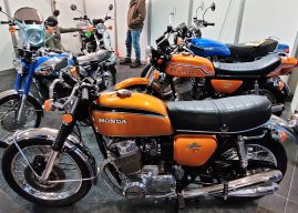 GALERII: vanamootorrattafännid kogunesid Central Classics motolaadale