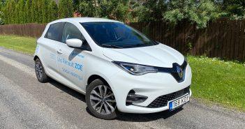 Lugeja proovisõit: Renault Zoe, asjalik väike elektriauto