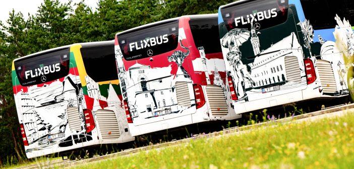 FlixBus alustab Baltimaades tegevust: Euroopa on bussisõidu kaugusel