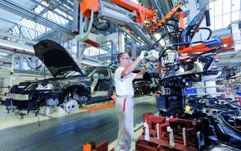 Audi tehase koosteliin