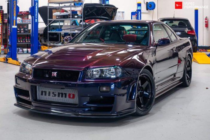Nissan Skyline GT-R R34 NISMO Z-Tune Midnight Purple III