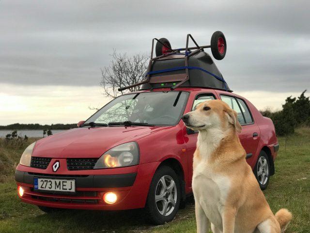 Kui autosse ei mahu, paneme katusele?