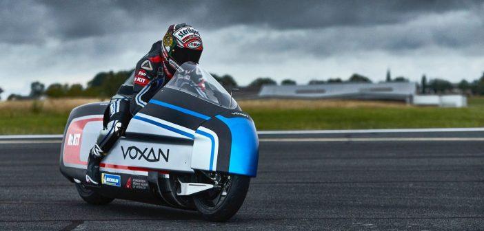 409 km/h: maailma kiireim elektrimootorratas Voxan Wattman