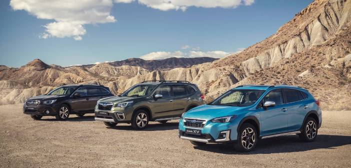 Subaru range 2020